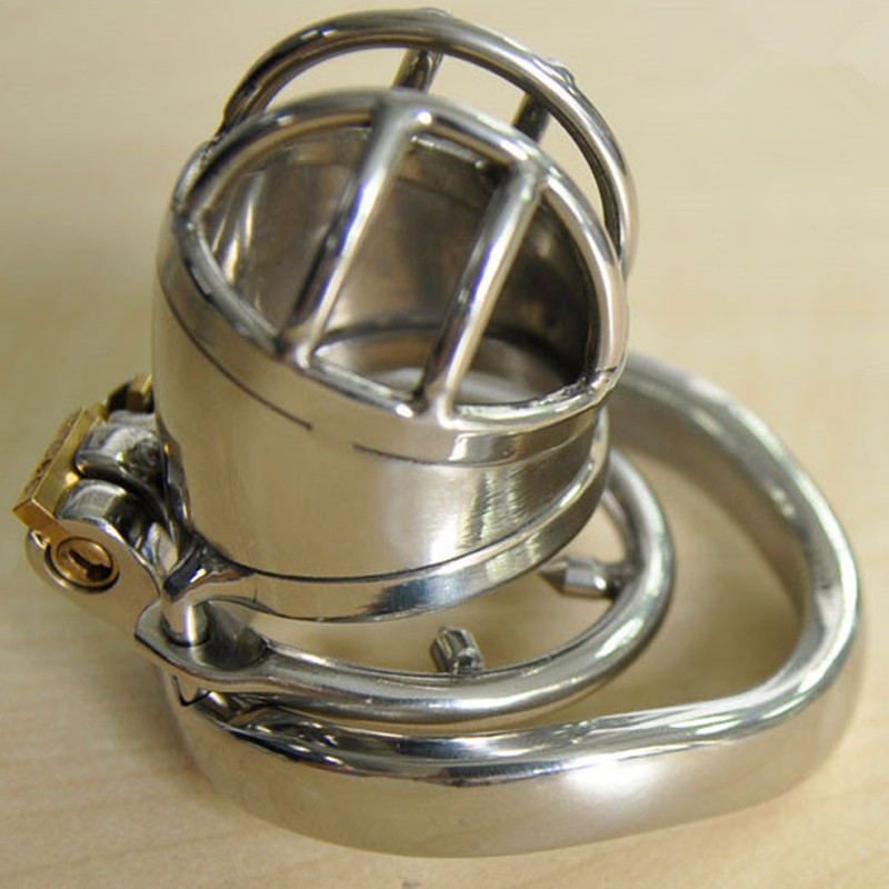 Male Stainless Steel Chastity Device with Anti-Shedding Ring,Gay Penis Rings Cock Cage Penis Lock Sex Toys For Men Chastity BeltMale Stainless Steel Chastity Device with Anti-Shedding Ring,Gay Penis Rings Cock Cage Penis Lock Sex Toys For Men Chastity Belt
