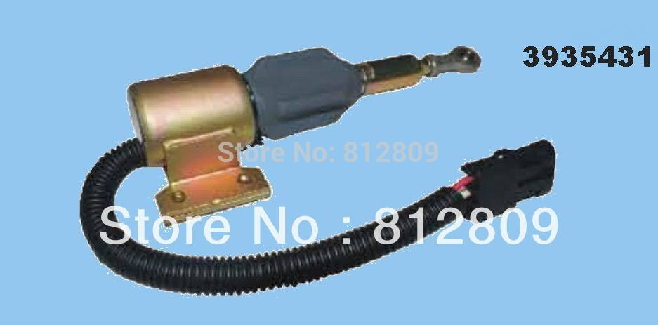 3935431 SA-4756-12 Fuel Shutdown Solenoid Valve 6BT 5.9L +fast free shipping by TNT/DHL,UPS цена