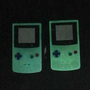 Image 2 - Пластиковый светящийся чехол с полным покрытием для ограниченной серии флуоресцентный чехол для GBC Gameboy цветной светящийся чехол