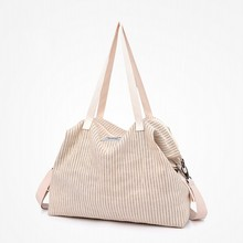 Women Canvas Messenger Bag Female Shoulder Bags Ladies Beach Top-Handle Bags Solid Tote Shopping Purse Bolsa Large Handbags canvasartisan brand new women canvas handbag top handle strip shoulder bag female daily travel tote shopping purse hand bags