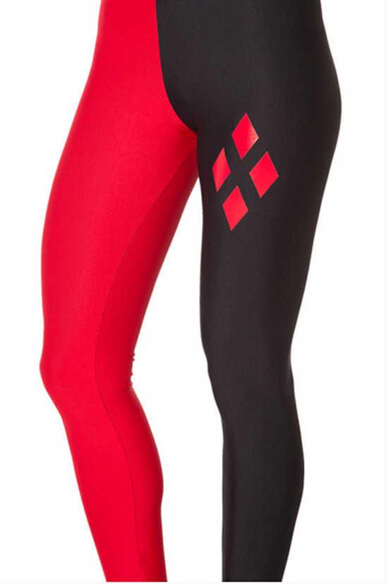 SexeMara 2018 ใหม่ Harley Quinn Leggings Mind ความคิดสร้างสรรค์ Hip Hop กางเกงขายาวแฟชั่นกางเกงออกกำลังกาย BL-519