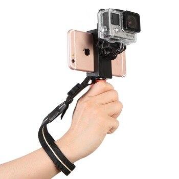 Mini Handheld Video Stabilizer Steadicam Grip For Mobile Phone Gopro SJCAM Camera
