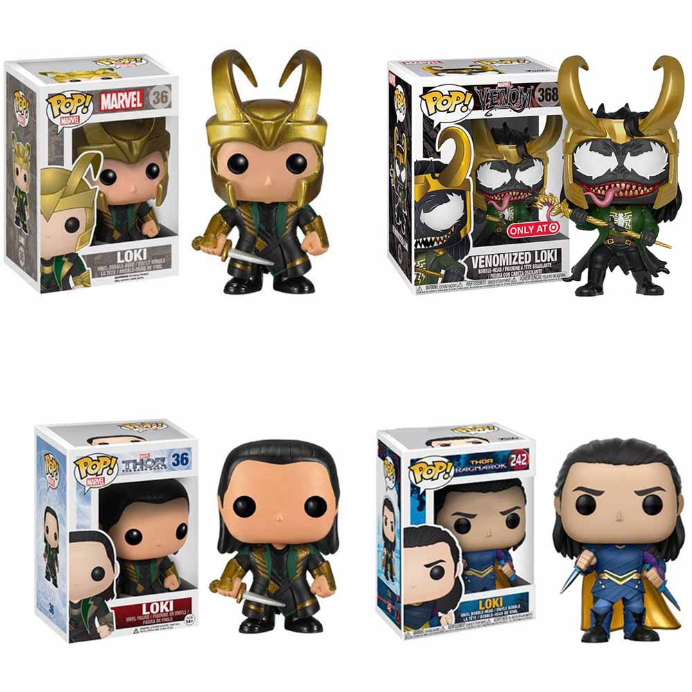 Funko PoP LOKI Marvel Avengers Unisex Vinyl Action Figure Character Juguete Collection Model Birthday Boy Girl Gifts Toys 2F51
