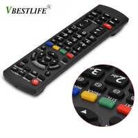Télécommande universelle 433mhz TV télécommande pour Panasonic 3D TV N2QAYB000715 N2QAYB000863 N2QAYB000486 N2QAYB000430 N2QAYB000827