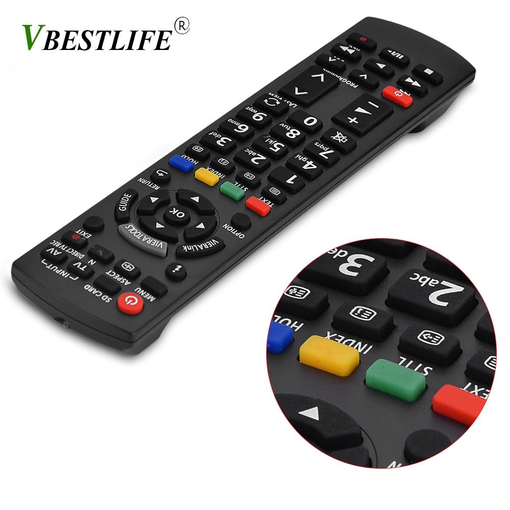Universal Remote Control 433mhz TV Remote for Panasonic 3D TV N2QAYB000715 N2QAYB000863 N2QAYB000486 N2QAYB000430 N2QAYB000827