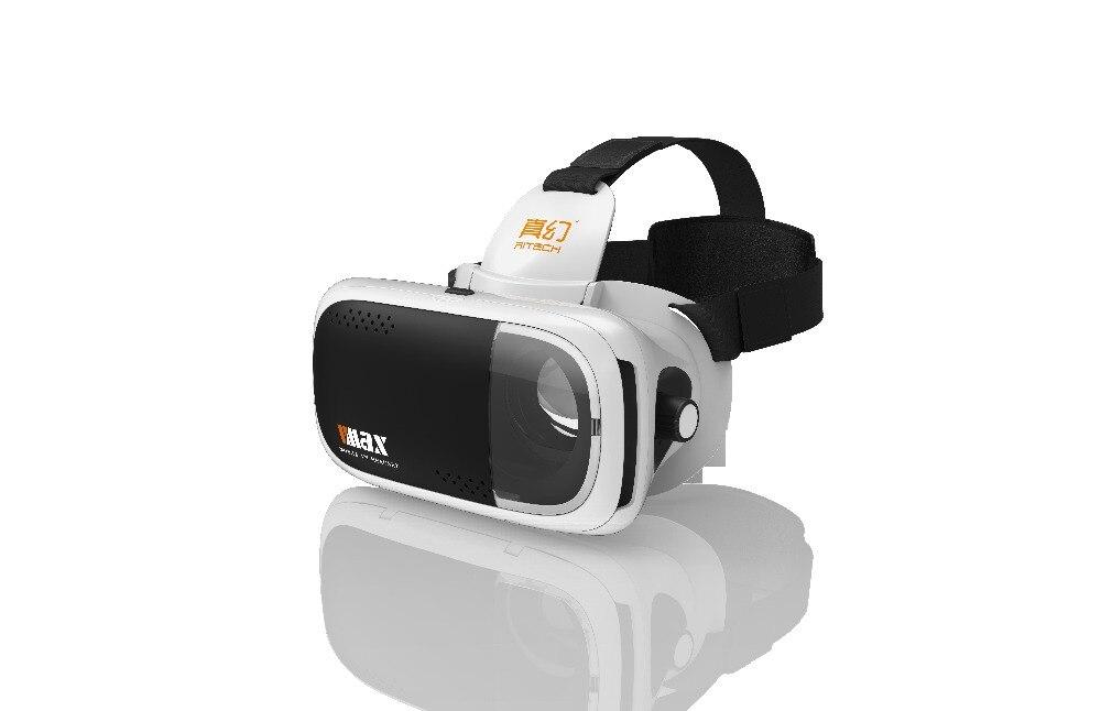 RITECH VMAX Immersive 3D Movie Glasses Virtual Reality Glasses VR Headset Helmet for 4.7-6 Smartphone F19943