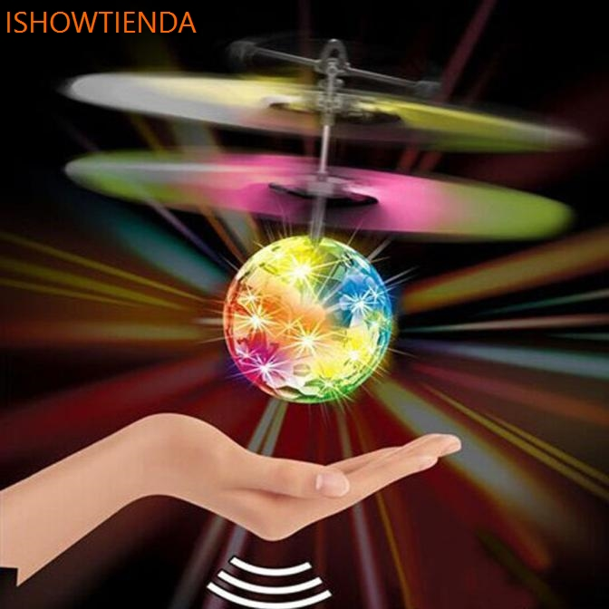 RC Ball Infrared Induction Mini Aircraft Flashing Light Remote Toys For Kids Outdoor Gift Drop Shipping цены онлайн