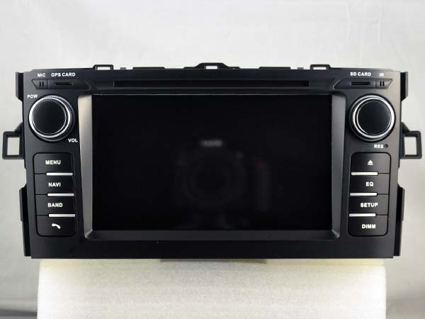 Octa Core 2GB RAM Android 6 0 CAR DVD player GPS For TOYOTA AURIS 2007 2010