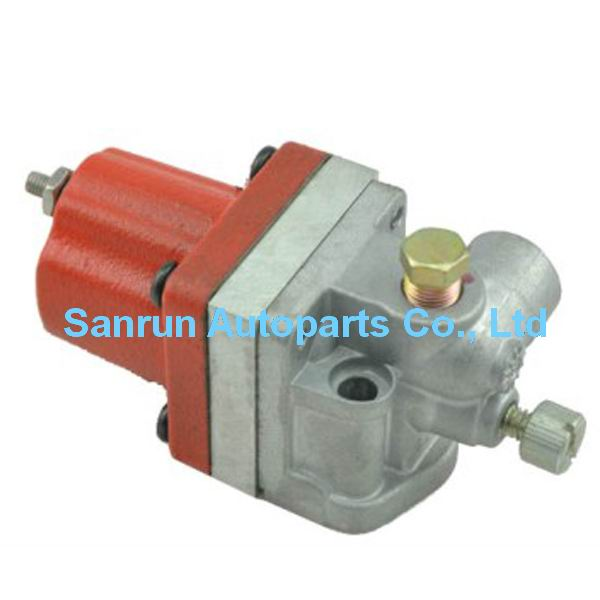 Fuel Shut Off Solenoid 3018453 Replace For 3018453 NT855 Engine 24V fuel shut off solenoid valve coil 3964624 fits excavator engine