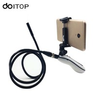 DOITOP Handheld Wifi Endoscope Camera 720P For IOS Android 6 LED 8mm Lens Waterproof Inspection Borescope