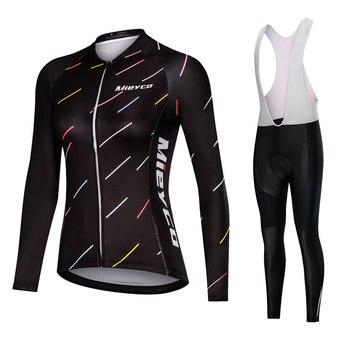 Pro Roupas de Ciclismo Ciclismo Bicicleta Conjuntos de uniforme de Verão Mulheres Ciclismo Conjunto Jersey Jerseys de Bicicleta de Estrada MTB Bicicleta Desgaste conjunto de banda desenhada