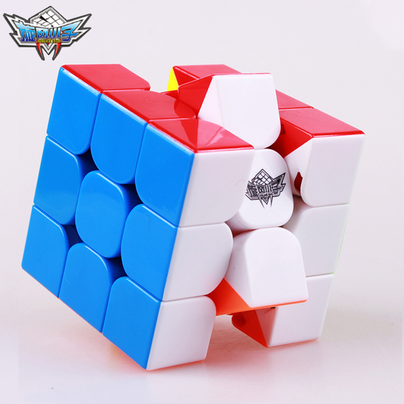 Cyclone Boys FeiJue 3x3x3 Magnetic Magic Cubes Professional Sticker less Speed Cubes Magnet Puzzles Cube Neo Cubo Toys For Kids