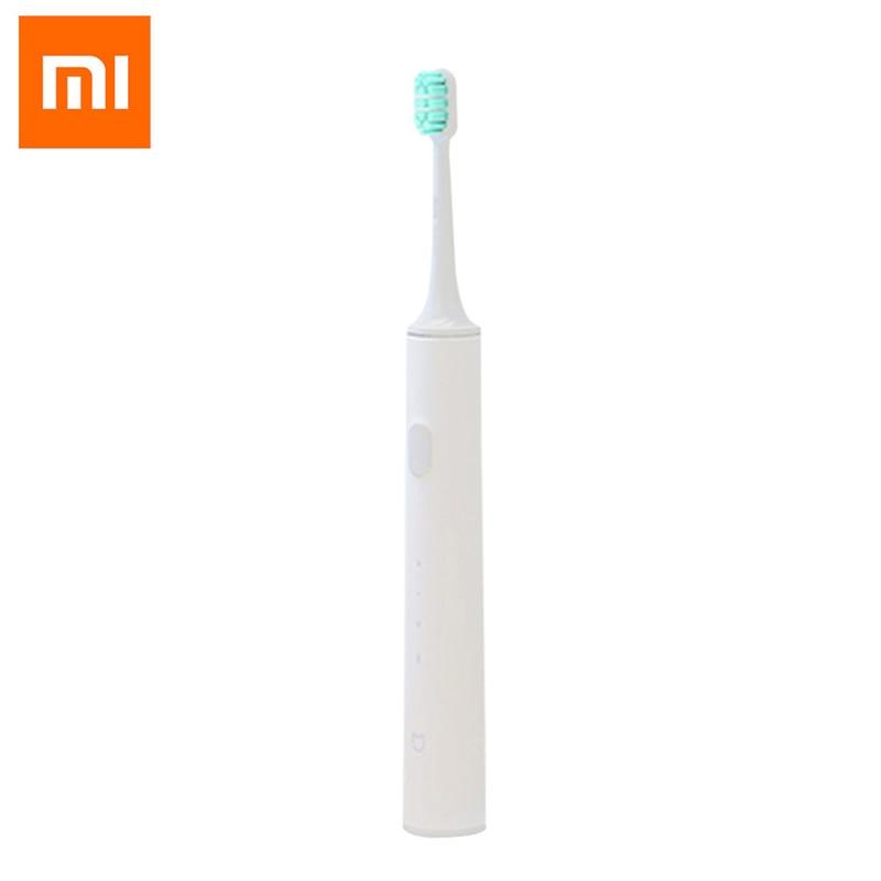 Original Xiaomi Electric Toothbrush Waterproof Mijia Sonic Toothbrush Rechargeable Dupont Bristles Tooth Brush Mi Home APP electric toothbrush for adult 4 modes sonic toothbrush ip67 waterproof soft bristles chargable tooth brush oral care tool