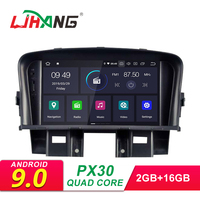 LJHANG 2 Din Android 9.0 Car Radio For CHEVROLET CRUZE 2008 2009 2010 2011 GPS Navigation Multimedia Player WIFI Audio Stereo FM
