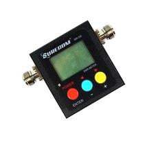 VSWR 1.00-19.9 Digital VHF UHF potencia y SWR meter 125-525 mhz con contador de frecuencia y potencia SURECOM SW-102 Radio Walkie Talkie 120 W