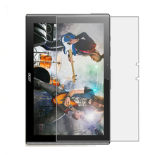 Clear Shiny Foil Display Protector Protecting Movie for Acer Iconia One 10 B3-A40 B3 A40 10.1″ Pill + Alcohol Fabric