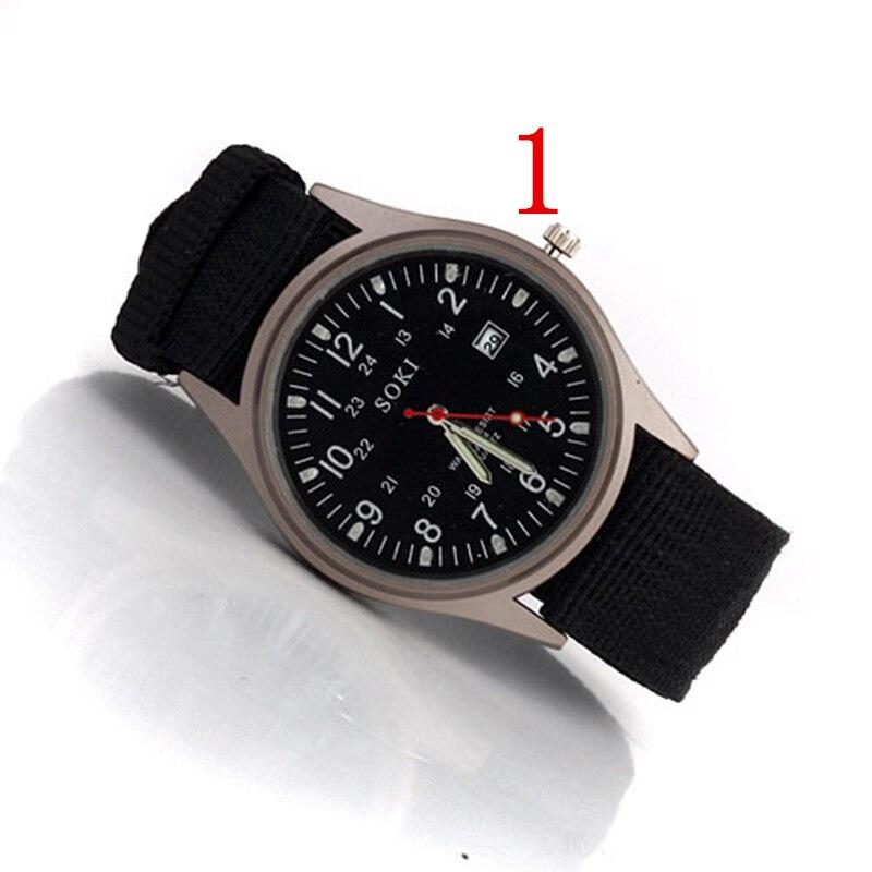 wu's 2018 new watch men's ultra-thin waterproof sports luminous student quartz men's watch Valentine's Day gift