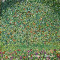Artwork Of Gustav Klimt The Apple Tree Art Reproduction Paintings Handmde High Quality