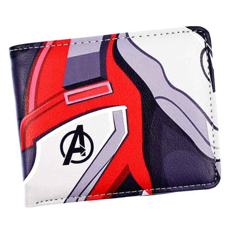 Hot Marvel The Avengers 4 Endgame Wallet High Quality Short Wallets Men's Purse with Card Holder Coin Pocket