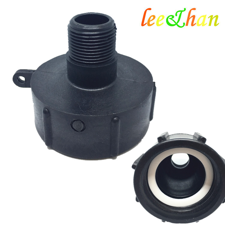 IBC Adapter Converts Inner Coarse Buttress Male Fine Thread Connnector 38mm