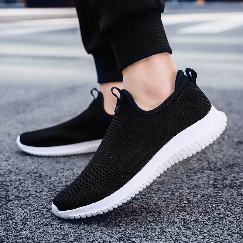HTB1FeB9L4TpK1RjSZR0q6zEwXXaj 2019 Spring Men Shoes Slip On Men Casual Shoes Lightweight Comfortable Breathable Couple Walking Sneakers Feminino Zapatos