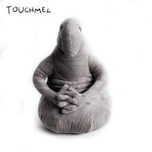 The Tubby Gray Blob Zhdun Toy Snorp Plush Zhdun Meme Plush Doll Homunculus Loxodontus