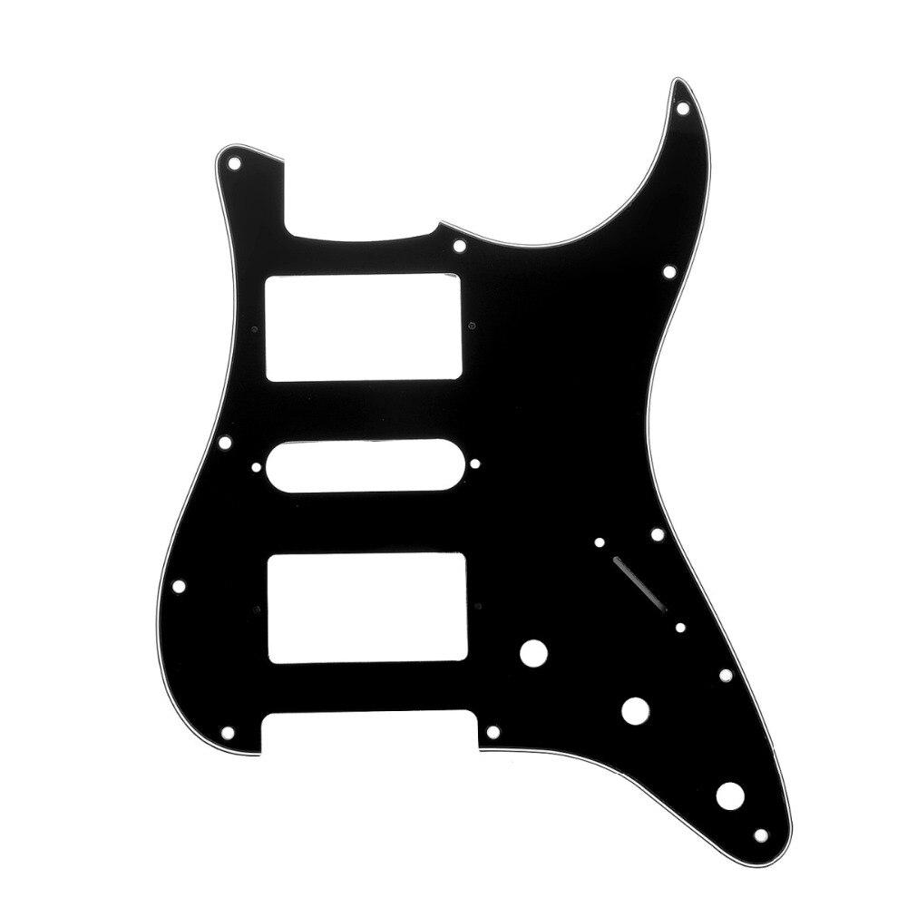 Musiclily Pro 11 Trou SAS Guitare Strat Pickguard pour Fender American/Mexicain Standard Stratocaster Style Moderne