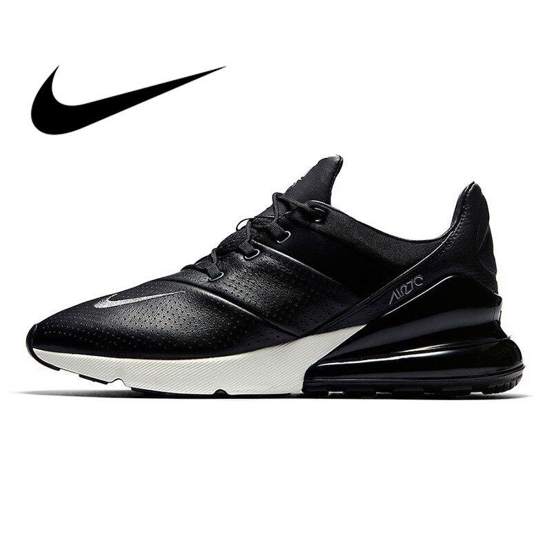 D'origine NIKE Air Max 270 Premium Hommes de Chaussures de Course à Lacets Confortable Respirant Jogging Durable Amorti Sneakers AO8283