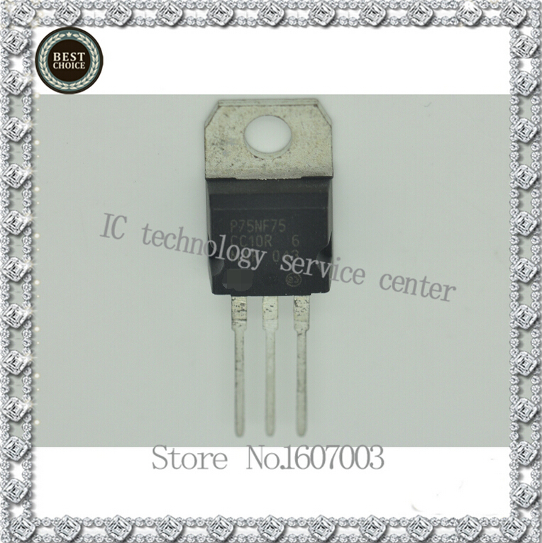 P75NF75 75NF75 FET original disassemble electric cars electric vehicles controller MOS tube  STP75NF75 P75NF75 75NF75 FET original disassemble electric cars electric vehicles controller MOS tube  STP75NF75