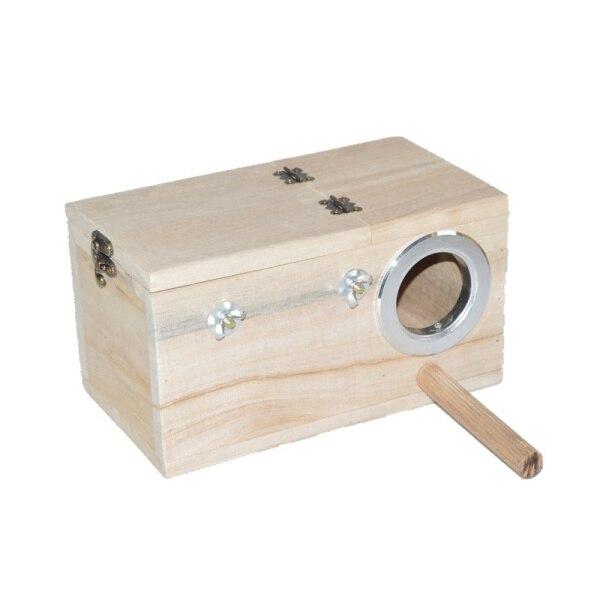 Parakeet fészek doboz, Budgie fészkelőház, tenyésztő doboz - Pet termékek - Fénykép 3