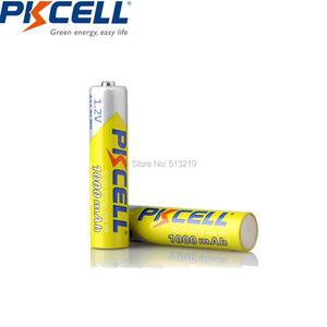 Image 4 - 12PCS PKCELL NIMH Battery AAA 1000mah 1.2v  3A Rechargeable Battery NI MH  Batteries 1000 Circle For flashlight camera toys