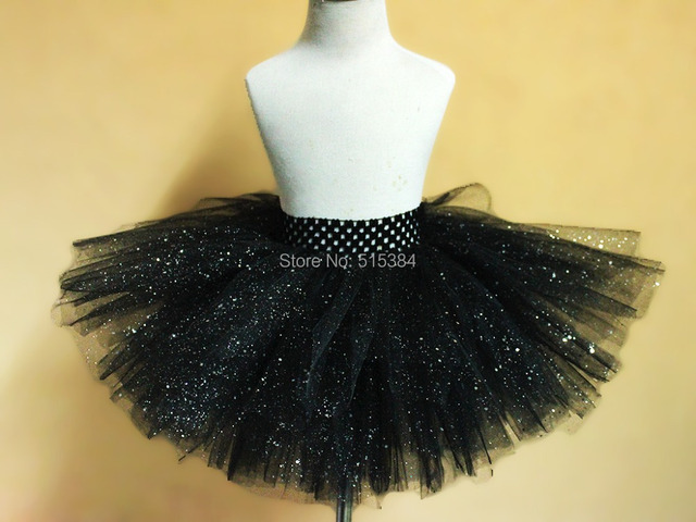 8d580f6d5 retail New black glitter sparkling tutu skirt baby girls beautiful ...