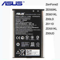 "Originale ASUS C11P1501 Batteria Per ASUS zenfone 2 Laser 5.5 ""/6"" zenfone selfie ZE550KL ZE601KL Z00LD Z011D ZD551KL z00UD 2900mAh"
