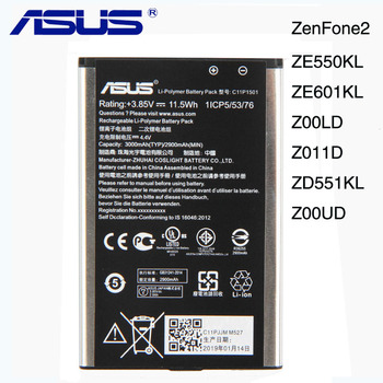 Oryginalny ASUS C11P1501 bateria do ASUS zenfone 2 Laser 5.5
