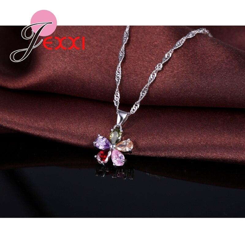 PATICO Cinque petali di fiori brillanti ciondolo di cristallo - Bigiotteria - Fotografia 2
