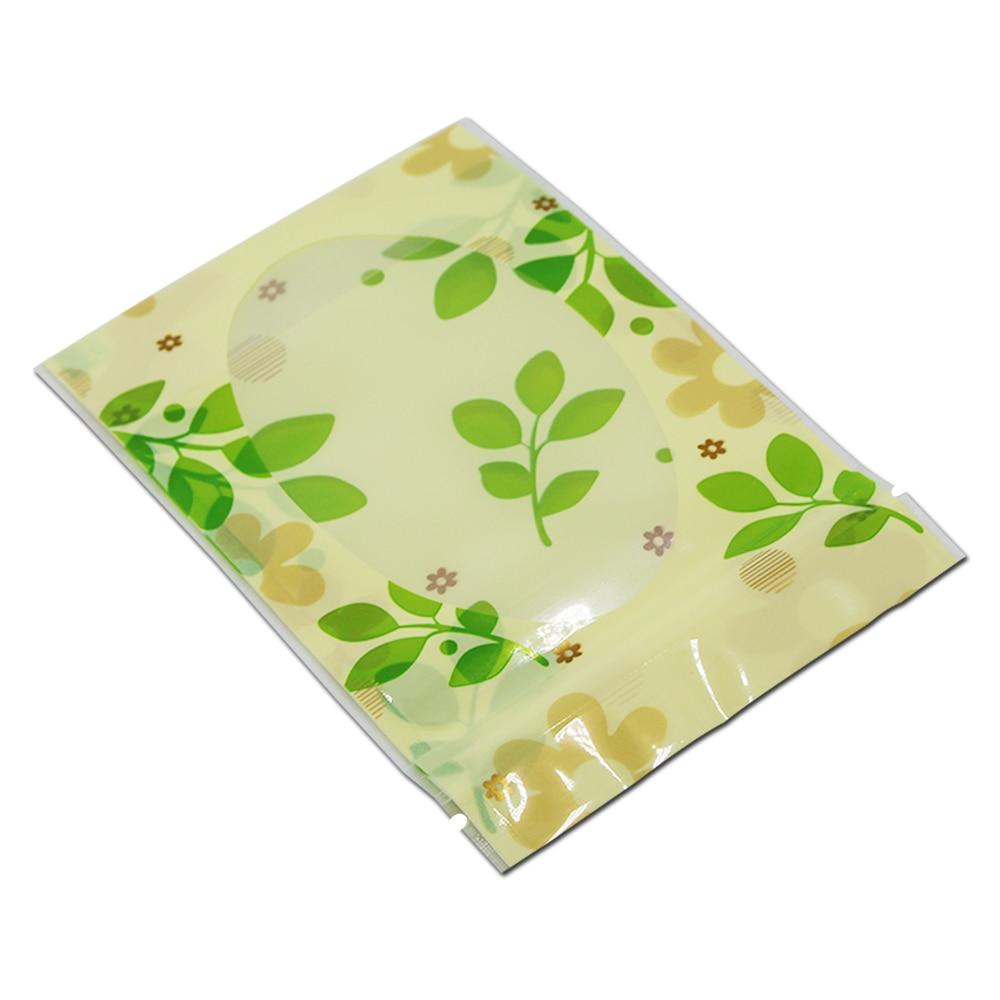 10 * 15cm 50Pcs / Lot Clear Plastična zelena listeljka Stand Up - Organizacija i skladištenje u kući - Foto 6