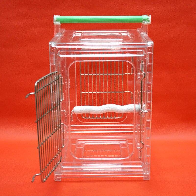 Cage portative de transporteur d'oiseau de perroquet résistante aux morsures Durable appropriée aux perroquets de petite taille - 6