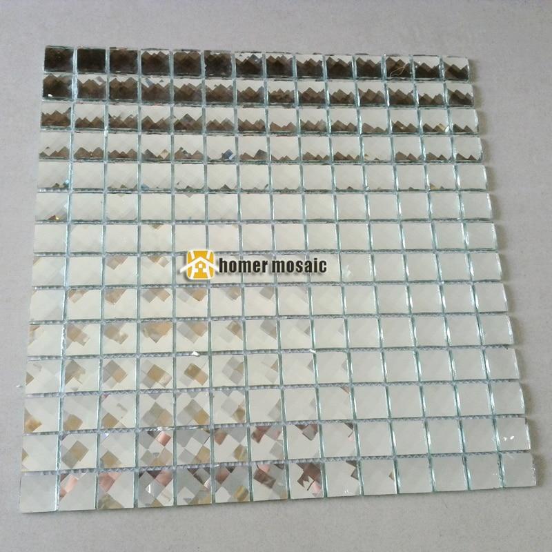 Блестящ сребърен цвят 13 облицовани - Декор за дома - Снимка 5