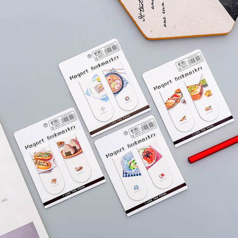 1 Pcs Creative Cute Fun Gourmet Bookmarks Books Marker Of Page Student Stationery School Office Supply