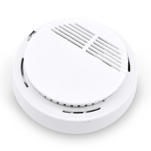 1pcs Wholesale!High Wireless Sensitive Security System Independent Smoke Detector Fire Home Safety Alarm Detecting Smoke Sensor