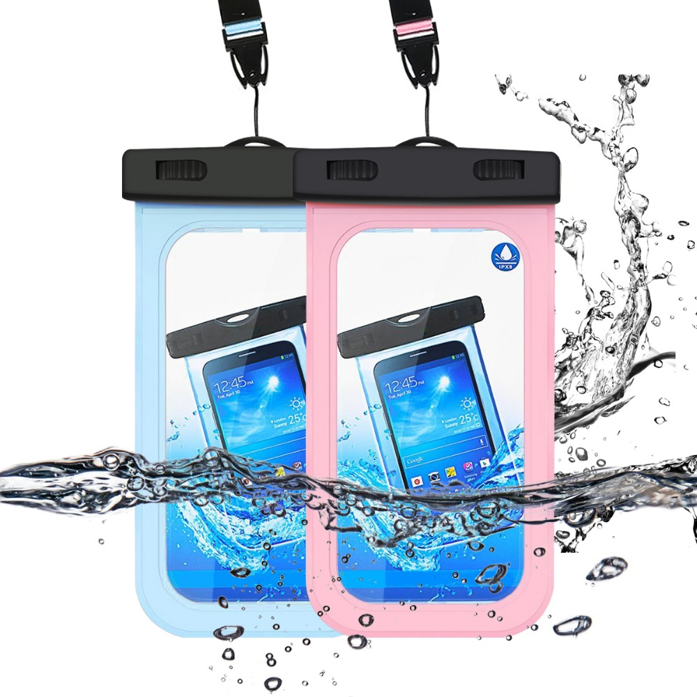 Hot Swimming Pool Waterproof Mobile Phone Bag with Strap Underwater Swim Dry Pouch Cases Cover Pool & Accessories