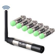 ALIEN DMX 512 Dfi DJ Della Discoteca 2.4 Ghz Trasmettitore Wireless Receiver 400 M Regolatore per il Partito di Musica Club DMX LED luci della fase del Laser