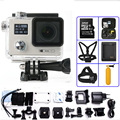 Ultra HD F88 Action Camera Dual Screen NTK96655 4K WiFi extre Waterproof 30M Sports Camara Go pro Hero 4 Cam Style
