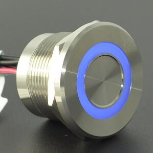 Image 4 - High operation time IP68 316L interruptor de empuje piezoeléctrico de 3 colores RGB impermeable de acero inoxidable (22mm,PS223P10YSS1RGB24T,Rohs,CE)