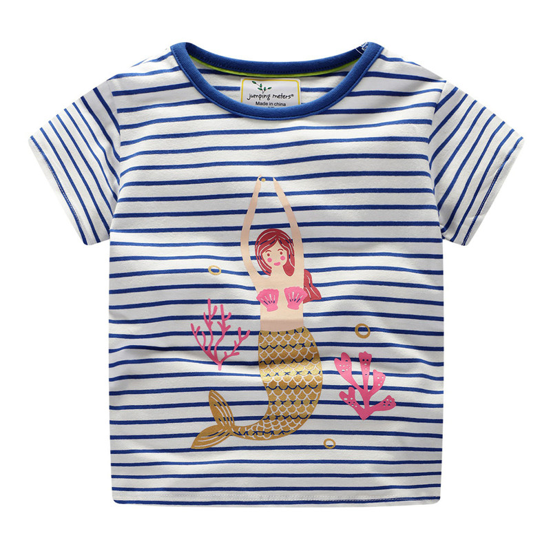 Children Clothes Baby Girls Summer T shirt Cartoon Unicorn Animals Kids Cotton Cute Cartoon Tees for Girls Baby Toddler Tops in Tees from Mother Kids