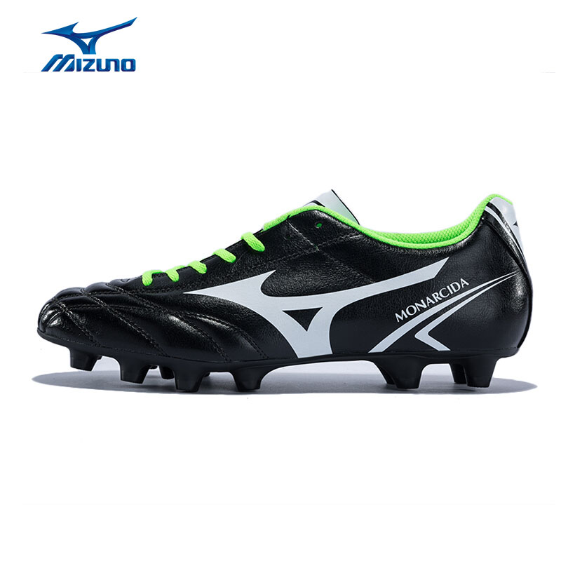 MIZUNO Men's MONARCIDA MD Soccer Shoes Support Cushioning Sports Shoes Sneakers P1GA162401 YXZ055 2008 donruss sports legends 114 hope solo women s soccer cards rookie card