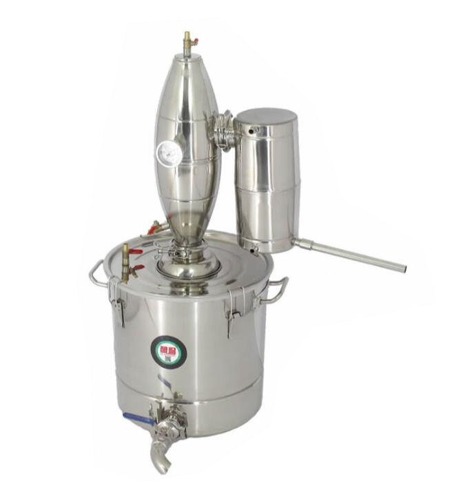New Stainless Steel 20L/30L Water Alcohol Distiller Home Brew Kit Still Wine Making Essential Oil Boiler 10l water alcohol distiller home brew kit still wine making essential oil boiler