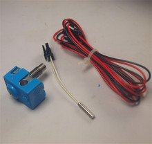 Horizon Elephant v6 hotend and silicone Sock PT100/K type thermocouple Upgrade Kit for RepRap 3D Printer hotend kit