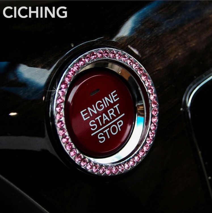 Bague d'allumage de démarrage de moteur de style de voiture pour Opel Adam Ampera Corsa E Karl Meriva B Vectra C Vita B C accessoires Cascada