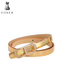 FOXER бренд женской моды Ремни женский Ремни